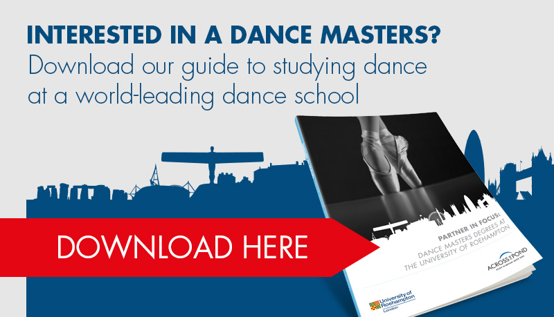 Download guide to studying dance at world-leading dance school