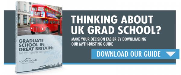 Graduate Degrees From UK Universities