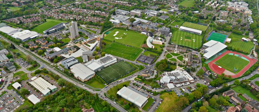 Loughborough University Aerial View