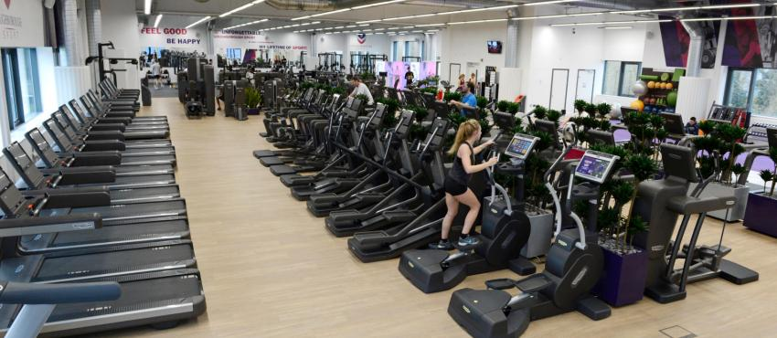 Loughborough University campus gym